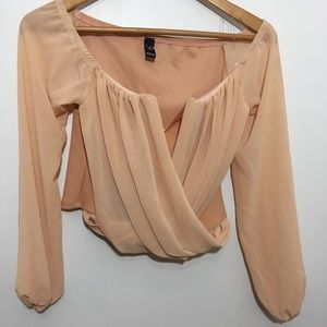 Windsor Beautiful Peach Color Blouse size S